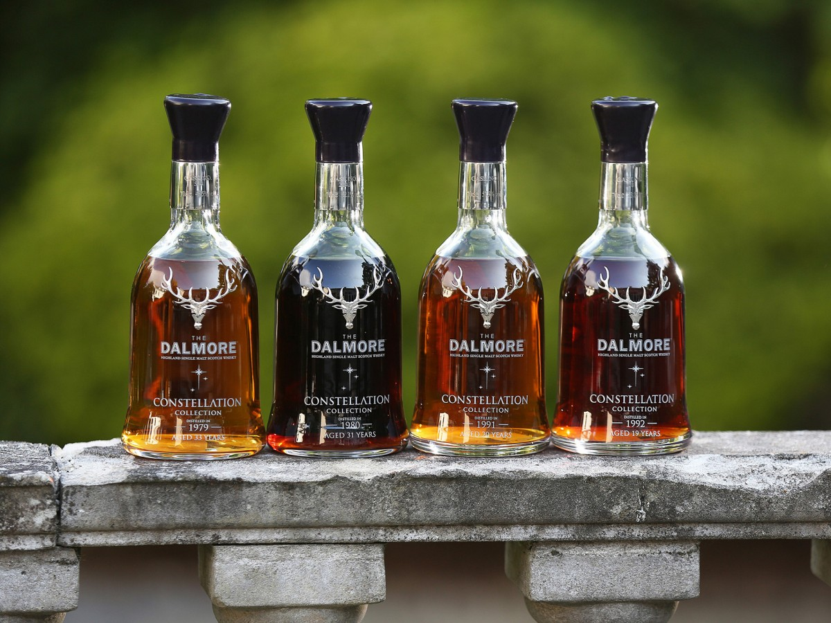 THE MARCLIFFE HOTEL AND SPA BECOMES THE FIRST PLACE IN BRITAIN TO SELL THE DALMORE'S CONSTELLATION COLLECTION BY THE GLASS.