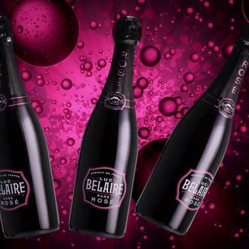 Luc Belaire Rare Rose sparkling wine champagne