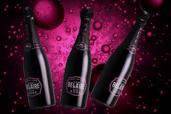 Luc Belaire Rare Rose sparkling wine champagne