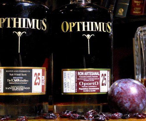 Opthimus 25 year Rum