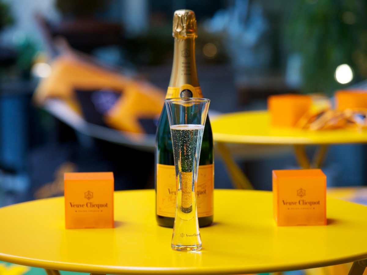 Veuve Clicquot Celebrates Yelloweek at La Société. Toronto, ON, Canada. May 5, 2014. (Image: Ryan Emberley)
